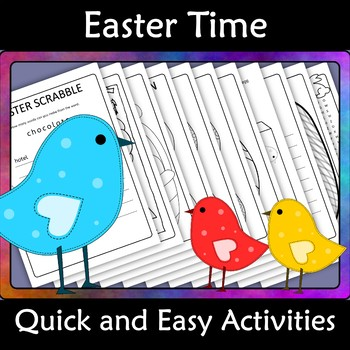 Easter Activities Quick and Easy