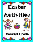 Easter Activities Second Grade (Literacy & Math)