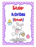 Easter Activities-Spanish