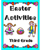 Easter Activities Third Grade (Literacy & Math)