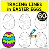 Easter Eggs Printables Tracing Worksheets