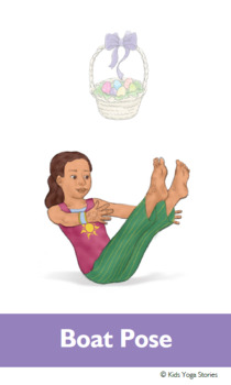 easter activities yoga cards for kidskids yoga