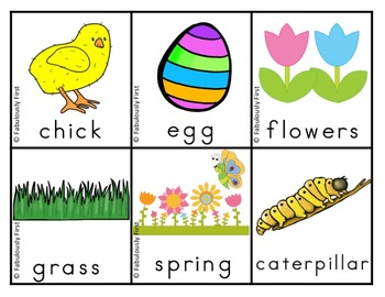 Easter Activities and Centers