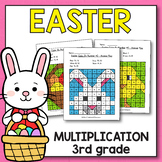 Easter Activities for 3rd Grade - Easter Multiplication Wo