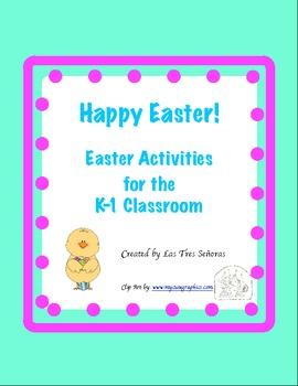 Easter Activities for K-1 Grade
