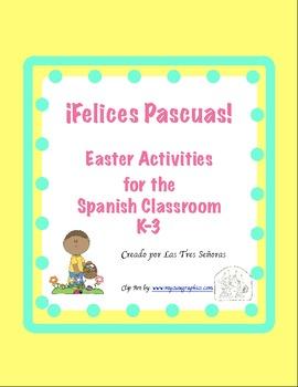 Easter Activities for K-3 Grade/ Las Pascuas
