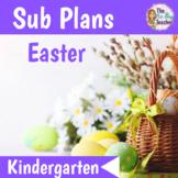 Easter Activities for Kindergarten Sub Plans