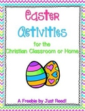 Easter Activities for the Christian Classroom or Home {A FREEBIE!}