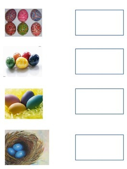 Easter Activities in French