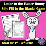 Easter Activity | A Letter To The Easter Bunny Mad Libs Game