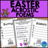Easter Acrostic Poems - Easter Writing Activity