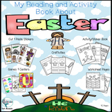 Easter Activity Book, Read, Color, Cut and Paste, Crafts, Centers, Games-More!