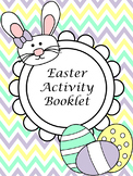 Easter Activity Booklet - Easy Printable Worksheets - No Prep!