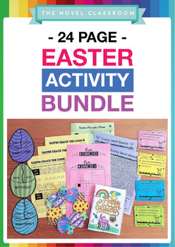 Easter Activity Bundle - Literacy, Numeracy & Craft Pack