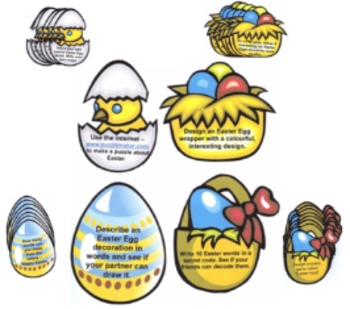 Easter Activity Cards