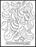 Easter Activity Coloring Pages