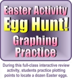 Easter Activity: Egg Hunt! Graphing Practice