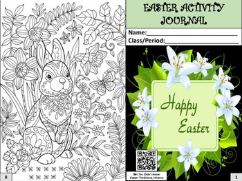 Easter Activity Journal