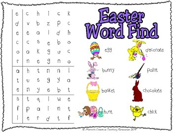 Easter Activity Pack {American Version}