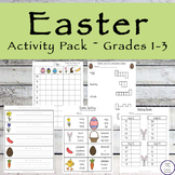 Easter Activity Pack ~ Grades 1 through 3