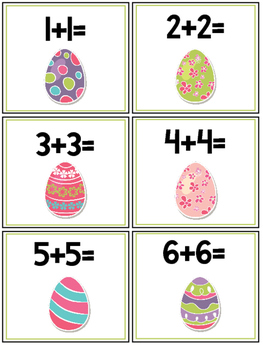 Easter Activity Pack - NO PREP Activity Booklet & 3 Math Centers