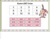 Easter Activity Set for the SMART Board