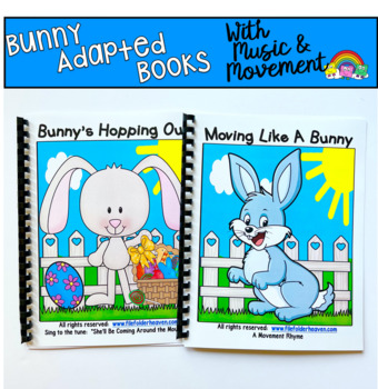 "Easter Adapted Book--""Bunny's Hopping Out"""