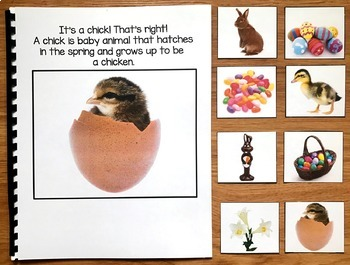 "Easter Adapted Book : ""I See Easter"" (w/Real Photos)"