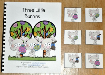 Easter Adapted Book--Three Little Bunnies