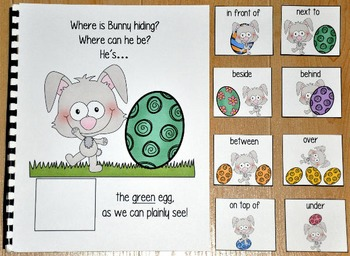 Easter Adapted Book--Where is Bunny Hiding?
