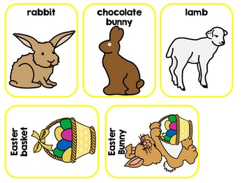 Easter Adapted Interactive Book Special Education, SLP, Autism