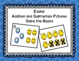 Easter Add and Subtract Picture Cards