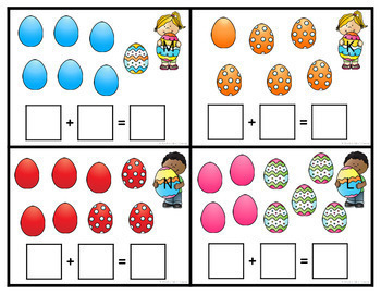 Easter Addition Math Center