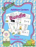 Easter Addition Math Centers Bundle