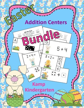 Easter Addition Centers Bundle