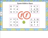 Easter Addition Game for Smart Board