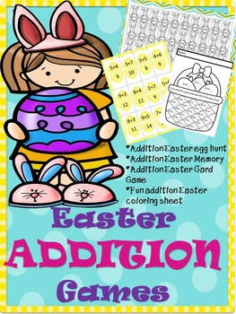 Easter Addition Games