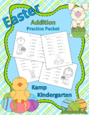 Easter Addition Practice Packet Sums to 10
