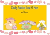 Easter Addition Strategies Plus 0 and Plus 1 Game