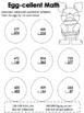 Easter Addition & Subtraction Activity Pages