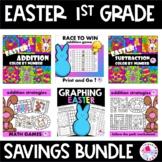 Easter Addition & Subtraction Fact Fluency BUNDLE