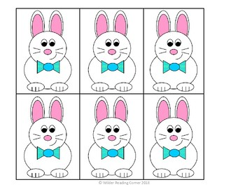 Kindergarte Easter Addition and Subtraction Math Center- Hop the Equations