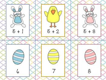 Easter Addition (Sums 1-20)