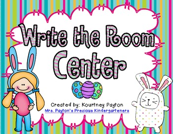 Easter Addition Write the Room