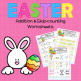 Easter Addition and Skip-Counting Worksheets