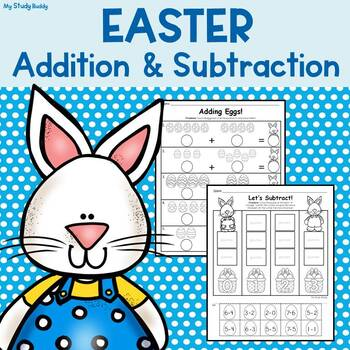 Easter Activities: Addition & Subtraction (Kindergarten Math, Easter ...