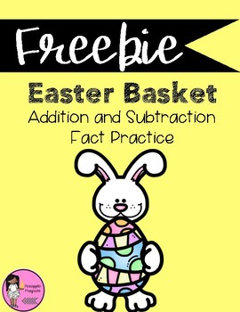 Easter Addition and Subtraction Fact Practice