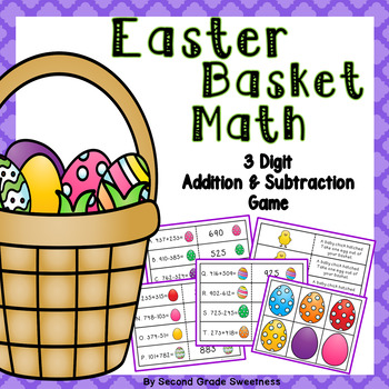 Easter Addition and Subtraction Game