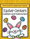 Easter Addition and Subtraction Math Center Games Bundle