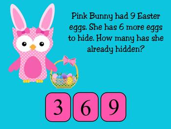 Easter Addition and Subtraction Stories